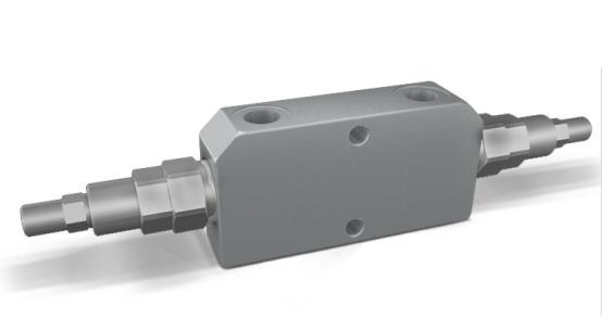 Тормозной клапан двойной линейный VBCD DE