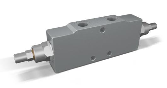 Тормозной клапан двусторонний линейный тип A VBCD DE A