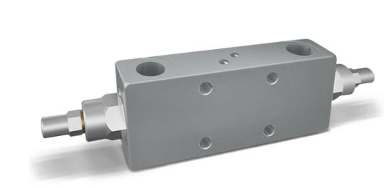 Клапан контрбаланса двойного действия стыковый тип VBCD DE FL