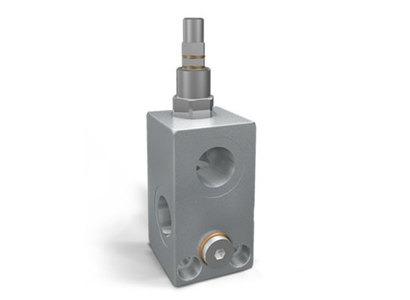Линейный предохранительный клапан с портом для манометра VMP