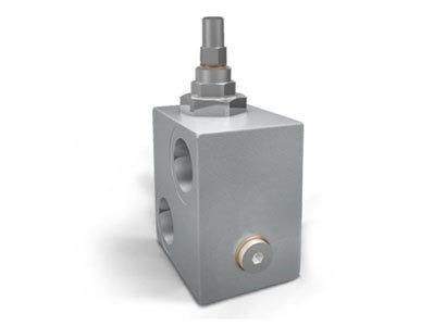 Линейный предохранительный клапан с пилотным управлением (дифференциальный) VMPP