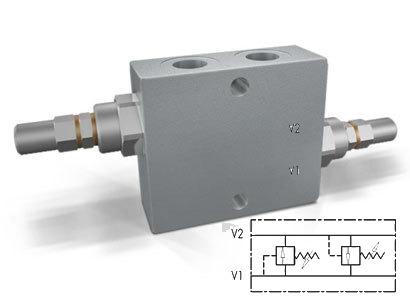 Линейный перекрестный предохранительный клапан тип VAU