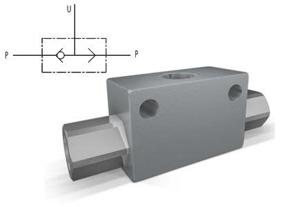 Клапан гидравлический  или  тип VU2P