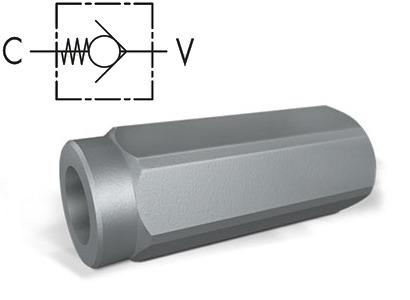 Клапан обратный линейный тип VU