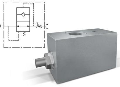 Клапан обрыва рукава с внешней настройкой тип VUBR
