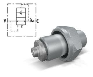 Клапан обрыва рукава тип VUBA DIN